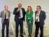 Il presidente della regione Puglia Michele Emiliano alla presentazione del nuovo progetto Enel