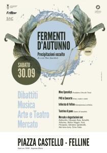 """La locandina di """"Fermenti d'autunno"""""""
