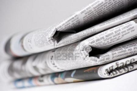 Una mazzetta di quotidiani (immagine web)